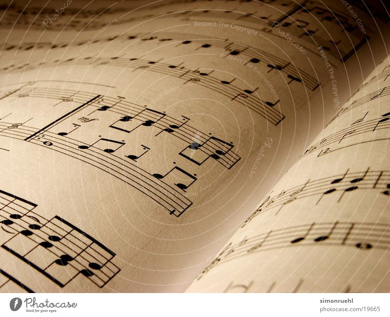 Moody Romance Things Musical notes