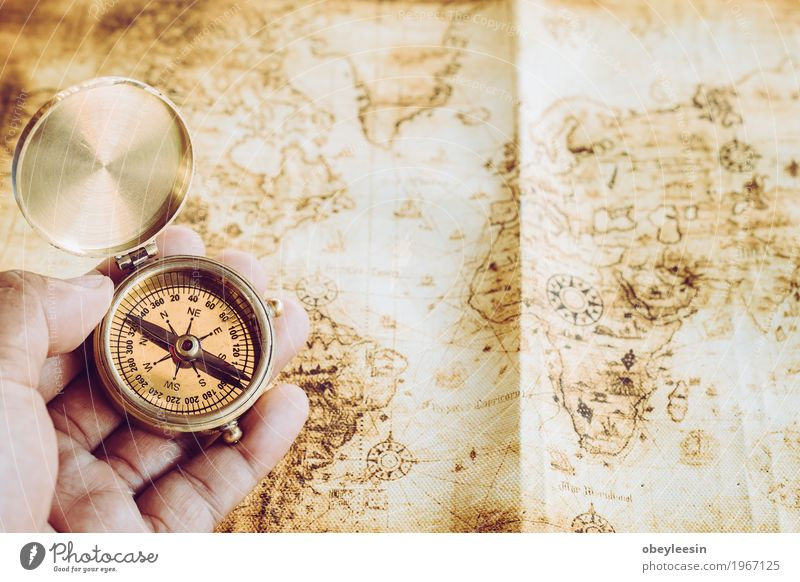 compass Human being Nature Hand Lifestyle Style Art Design Adventure