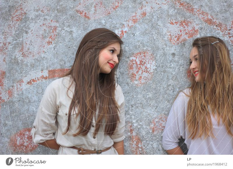 Best Hairstyle For Youth : Two girls human being a royalty free stock photo from photocase