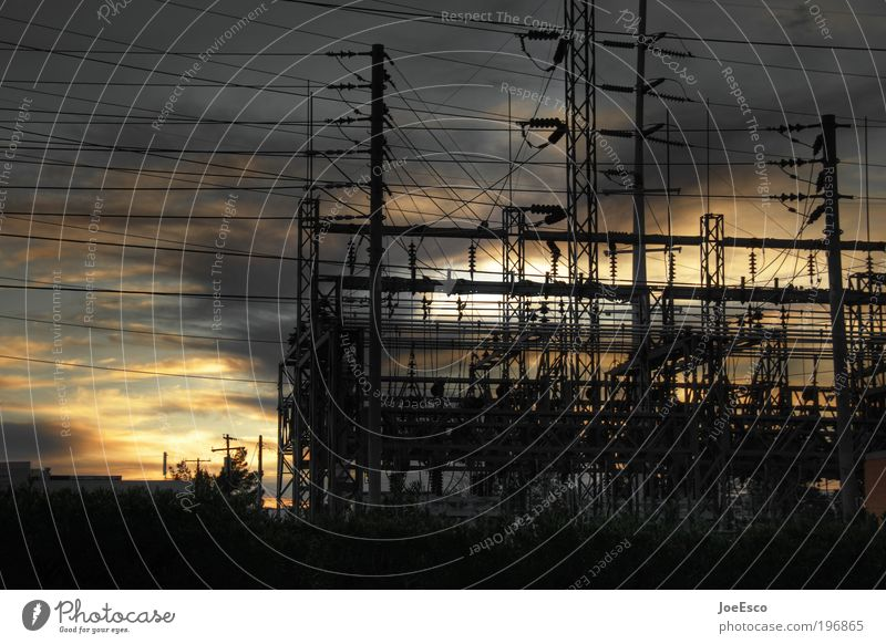 Sky Beautiful Dark Energy industry Electricity Perspective Industry Change Threat Technology Telecommunications Company Economy Information Technology