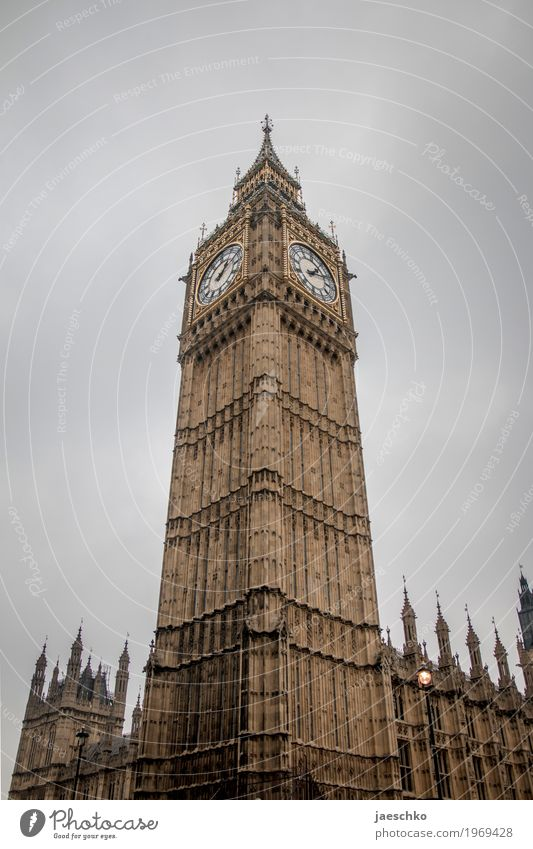 Town Clouds Architecture Building Gray Tall Historic Tower Manmade structures Tourist Attraction Landmark Capital city Luxury London England Great Britain