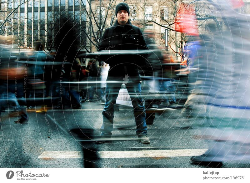 Human being Man City Adults Life Street Stand Academic studies Political movements Uniqueness Motion blur Peoples Education University & College student Direction Opinion