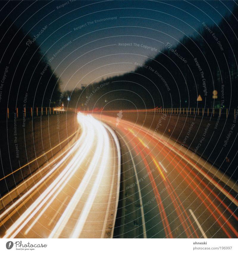 Vacation & Travel Street Car Road traffic Energy Transport Speed Logistics Highway Traffic infrastructure Motoring Long exposure Passenger traffic Haste Light