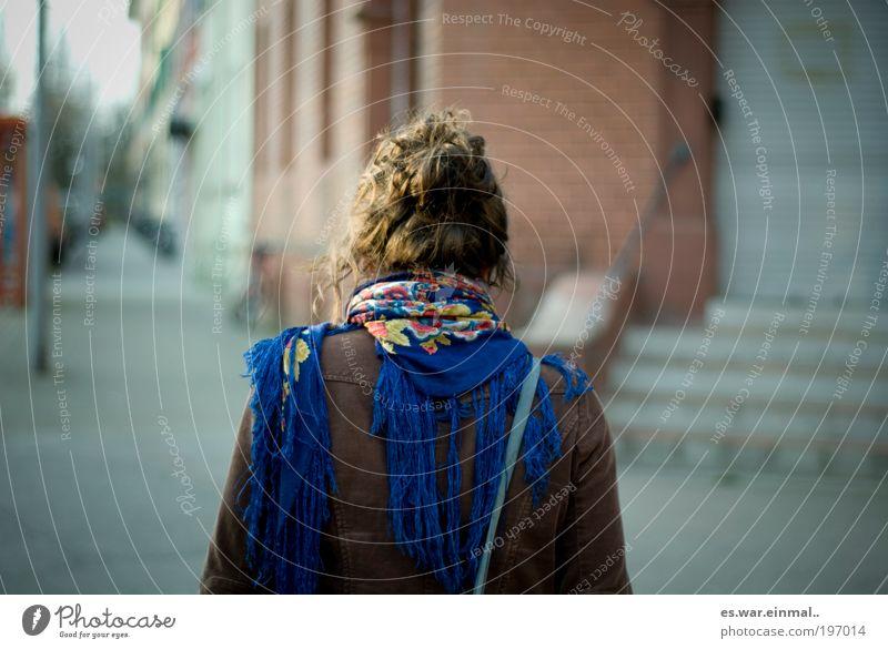 Woman Calm Adults Serene Bag Scarf Neckerchief
