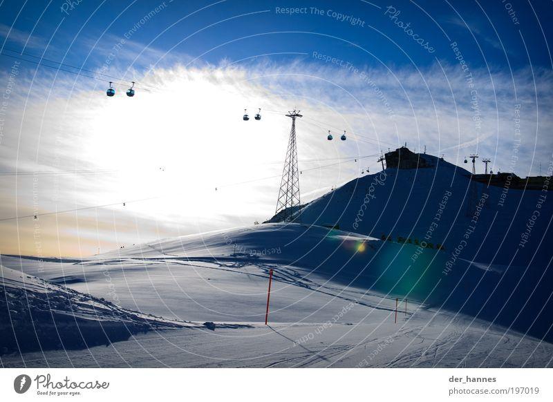 Beautiful Winter Cold Snow Environment Alps Longing Switzerland Davos