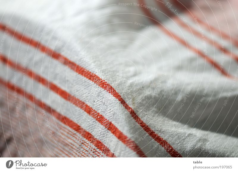 White Red Line Kitchen Living or residing Stripe Cloth Services Trade Hang Striped Towel Do the dishes Cotton Work and employment
