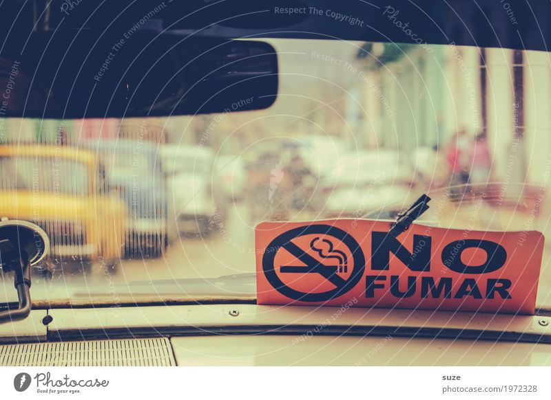 Vacation & Travel Town Street Warmth Car Window Freedom Retro Gloomy Signs and labeling Culture Poverty Signage Old town City trip Smoking
