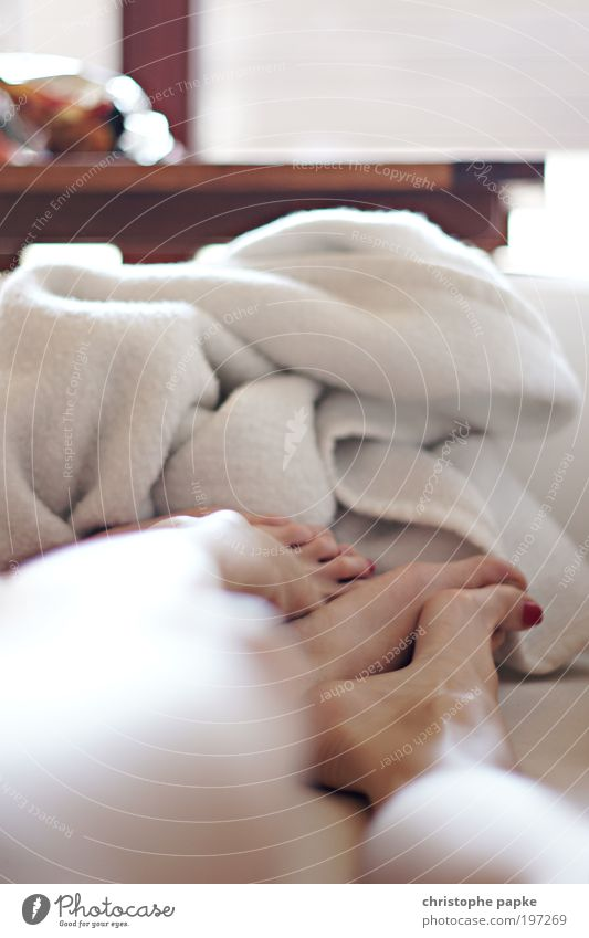 Human being Relaxation Love Happy Legs Couple Feet Together Lie Sleep Romance Touch To hold on Trust Passion Partner
