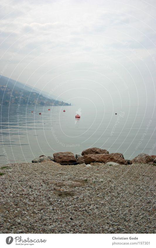 Nature Water Sky Blue Plant Summer Vacation & Travel Animal Gray Stone Lake Rain Landscape Coast Fog Wind