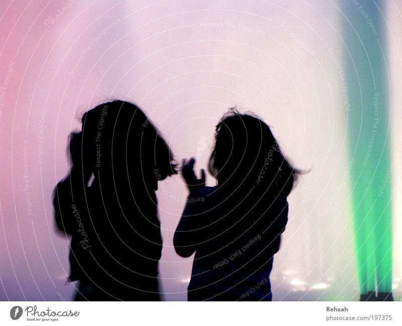 Human being Child Water Blue Green Summer Joy Black Life Movement Laughter Music Friendship Infancy Dance Glittering