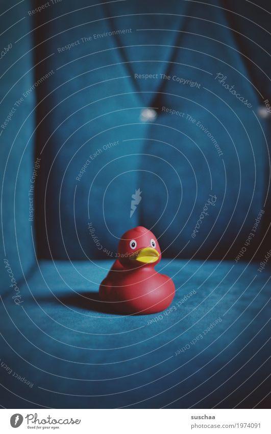 Blue Red Relaxation Living or residing Sofa Converse Armchair Comfortable Squeak duck