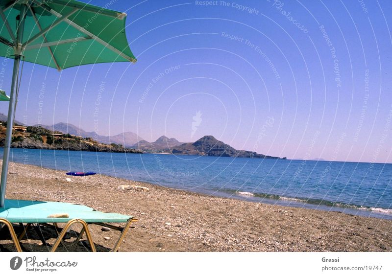 Sun Ocean Beach Vacation & Travel Warmth Air Europe Reading Hot Couch Sunshade Greece Surf Comfortable Crete Salty