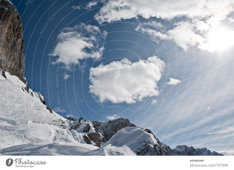 Nature Vacation & Travel Sun Landscape Clouds Winter Mountain Environment Movement Snow Freedom Rock Weather Ice Trip Peak
