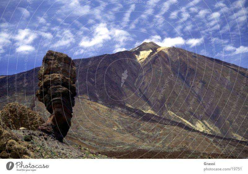 Mountain Volcano Canaries Tenerife Teide