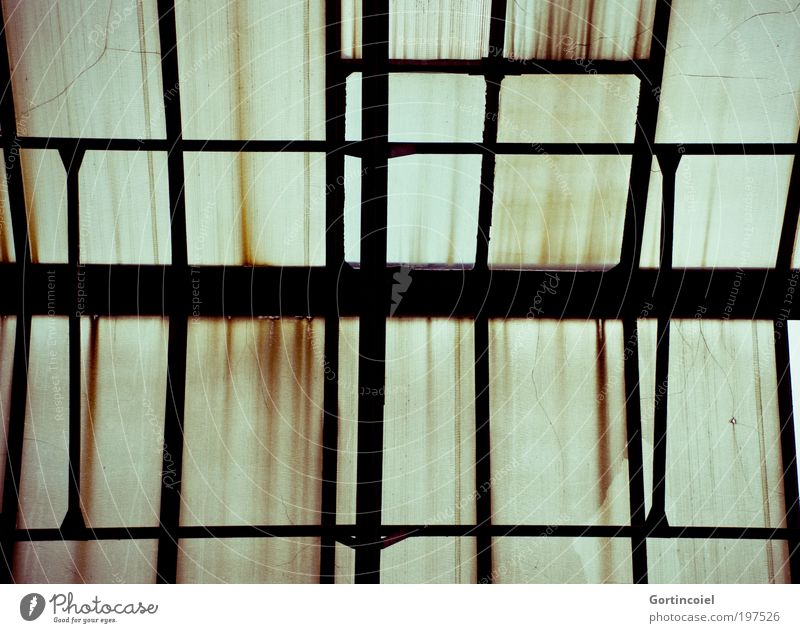 Old Building Dirty Architecture Factory Roof Broken Transience Stripe Derelict Decline Rust Manmade structures Ruin Geometry