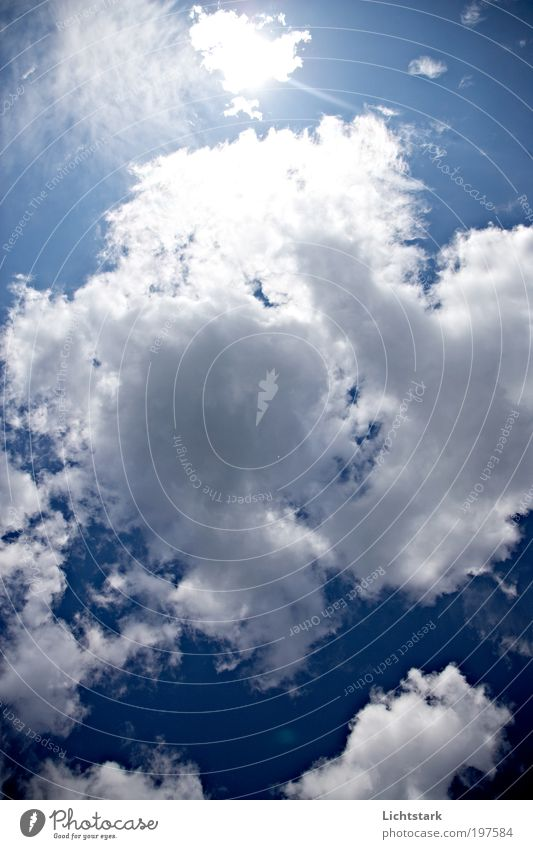 Sky Nature Blue White Sun Clouds Calm Relaxation Environment Playing Freedom Air Weather Elegant Climate Trip