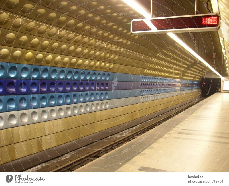 Metro Praha London Underground Architecture Prague Modern Technology