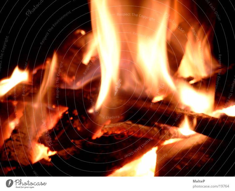 Wood Blaze Burn Embers