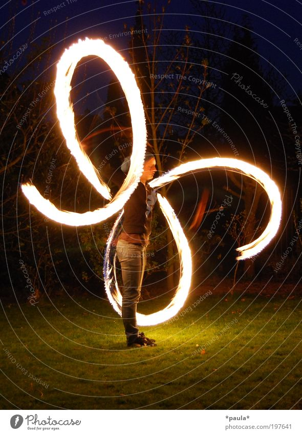 catch fire... 1 Human being Art Artist Elements Fire Sign Movement Illuminate Playing Stand Dream Esthetic Exceptional Free Large Hot Bright Uniqueness Black