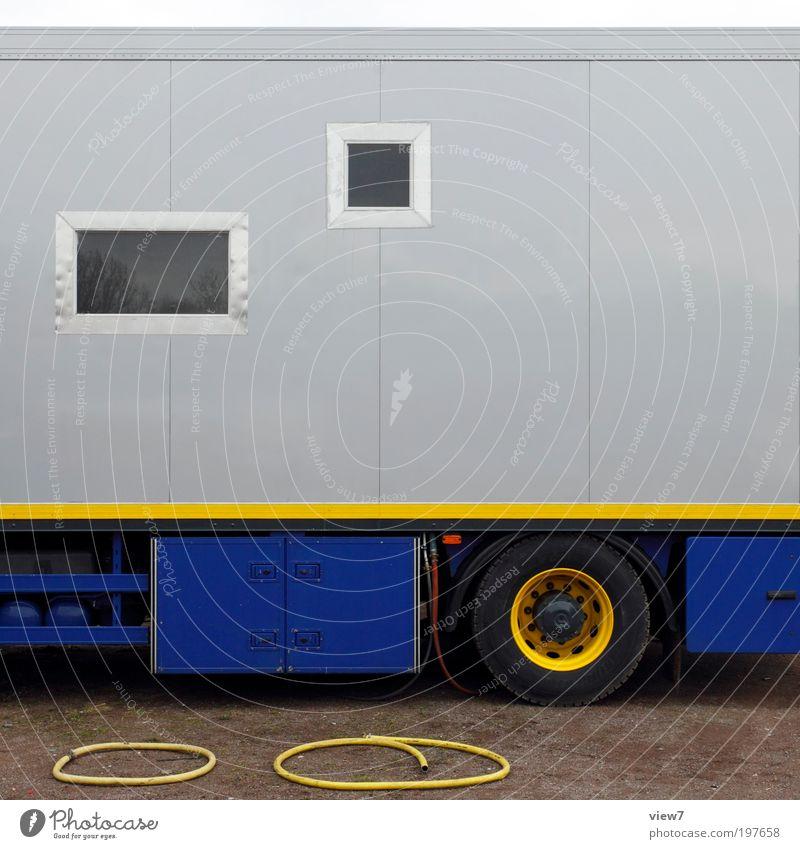 Blue Yellow Far-off places Above Line Metal Design Elegant Transport Modern Arrangement Esthetic Logistics Authentic Good Thin