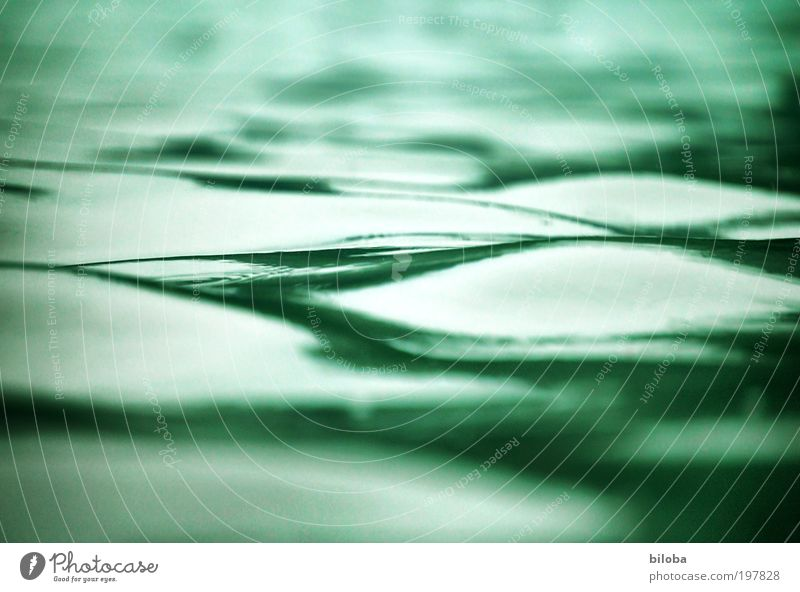 waves Environment Nature Elements Water Summer Green White Waves Structures and shapes Background picture Relaxation Calm Comforting Smooth Lake biloba