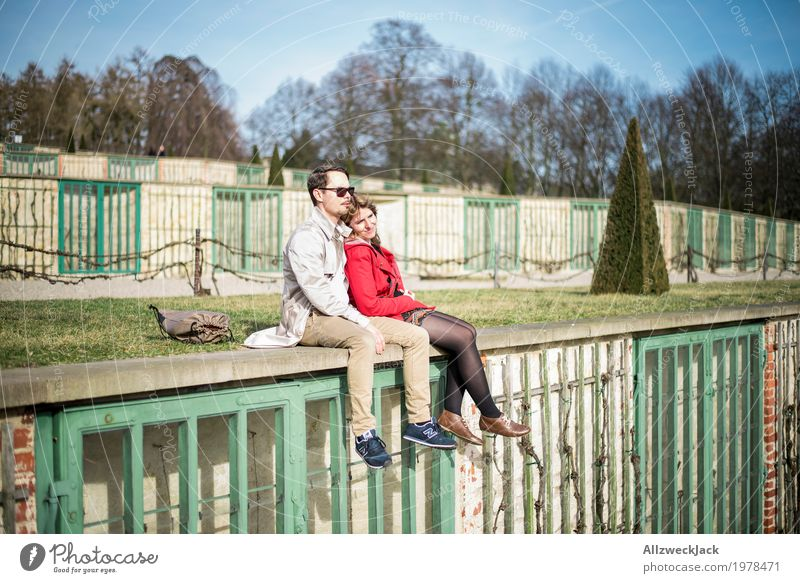 Human being Woman Youth (Young adults) Man Young woman Young man Relaxation Calm 18 - 30 years Adults Life Love Feminine Happy Couple Together