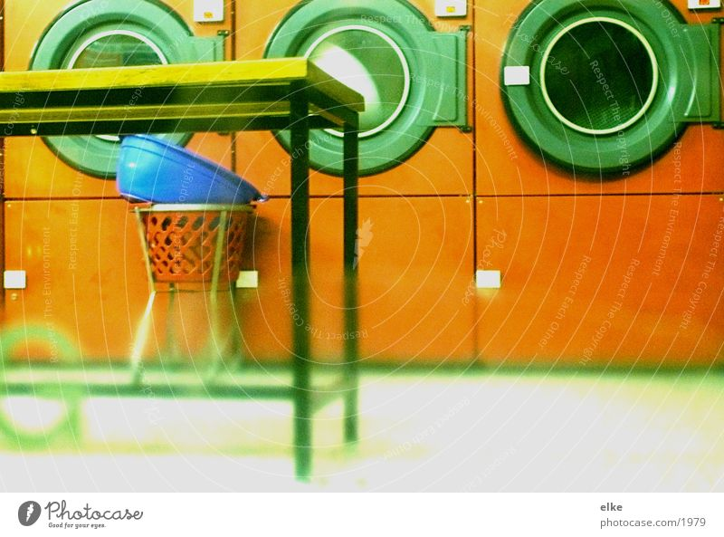 laundrette Laundry Laundromat Washer Table Seventies Clothing Photographic technology Services Washing Washing day