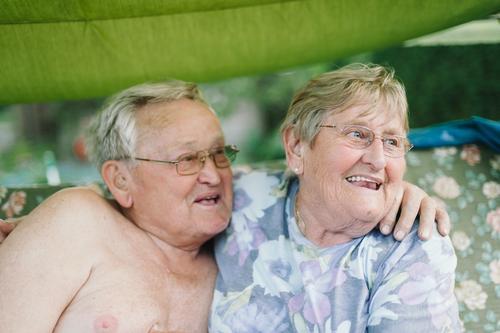 Grandma & Grandpa Healthy Health care Care of the elderly Vacation & Travel Flat (apartment) Retirement Human being Woman Adults Man Female senior Male senior