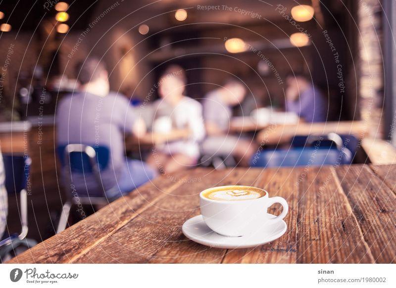 cappuccino Breakfast Beverage Hot drink Coffee Cappuccino Cup Interior design Decoration Table Fragrance Bright Hip & trendy Delicious Brown White