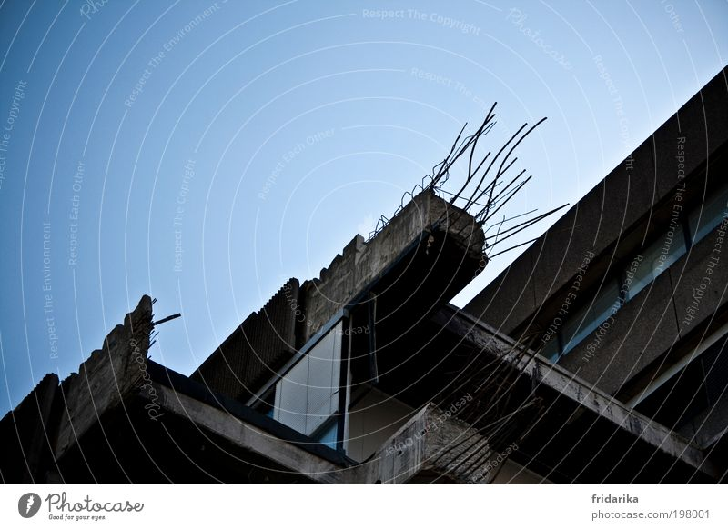 Wall (building) Architecture Wall (barrier) Sadness Metal Fear Glass Facade Concrete Poverty High-rise Change Transience Factory Skyline Steel