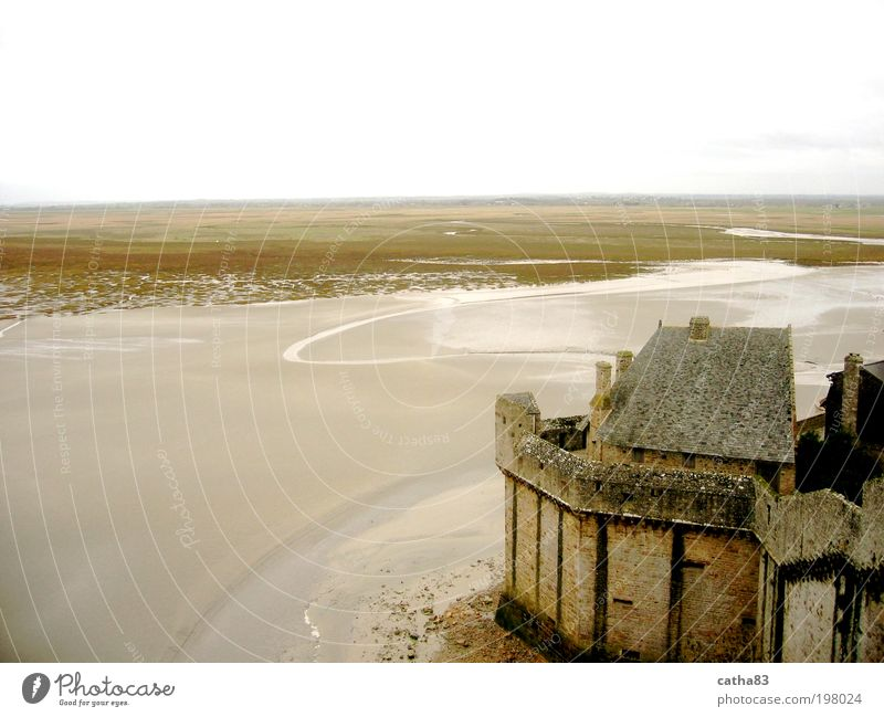 Water Ocean Yellow Landscape Brown Architecture Fog Horizon Church Culture Castle France Elements Tourist Attraction