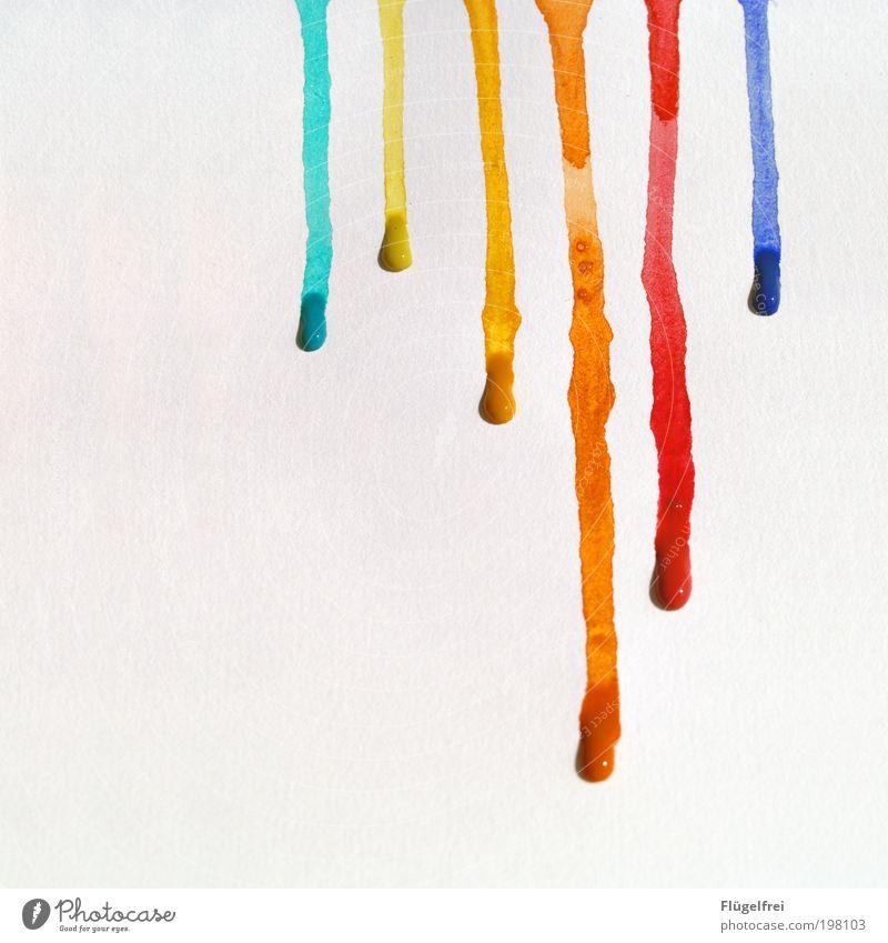 Beautiful Joy Movement Dye Line Art Paper Esthetic Multicoloured Drop Leisure and hobbies Dynamics Patch Flow Striped Culture
