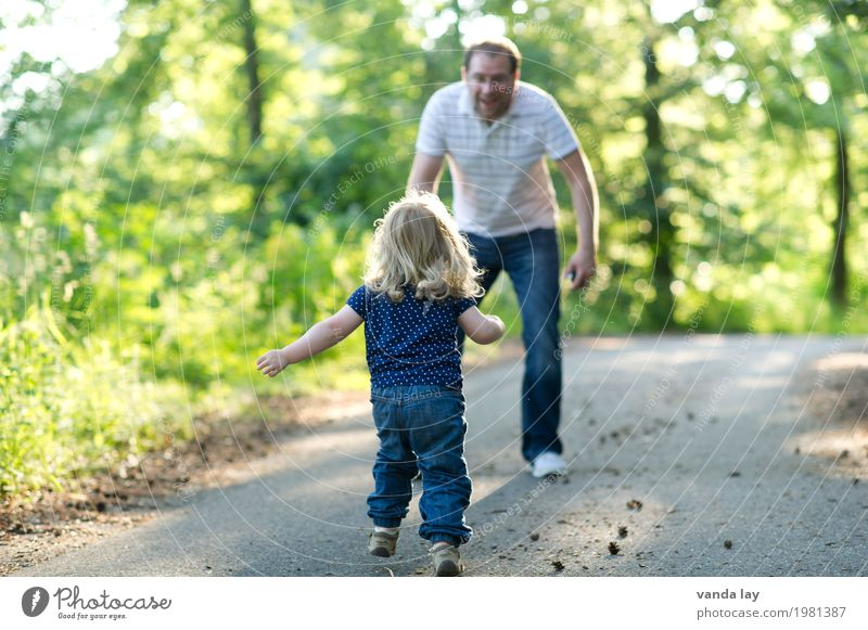 PAPAAAAAAAAAAAAA Leisure and hobbies Playing Children's game Vacation & Travel Trip Adventure Summer Hiking Forest Human being Toddler Girl Young man