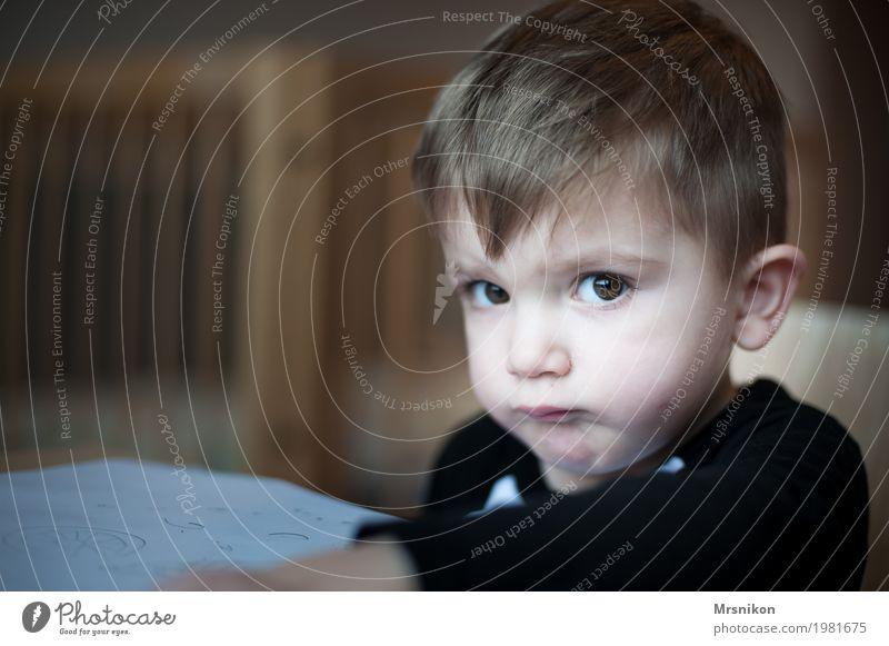 Ah menno... Human being Child Toddler Boy (child) Infancy Life 1 1 - 3 years Brash Son Looking Funny Funster Blonde Beautiful Brown eyes Children's game