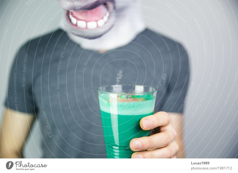 Blue Green Animal Healthy Exceptional Modern Cool (slang) Curiosity Beverage Coffee Drinking Horse Hip & trendy Organic produce Mask Turquoise