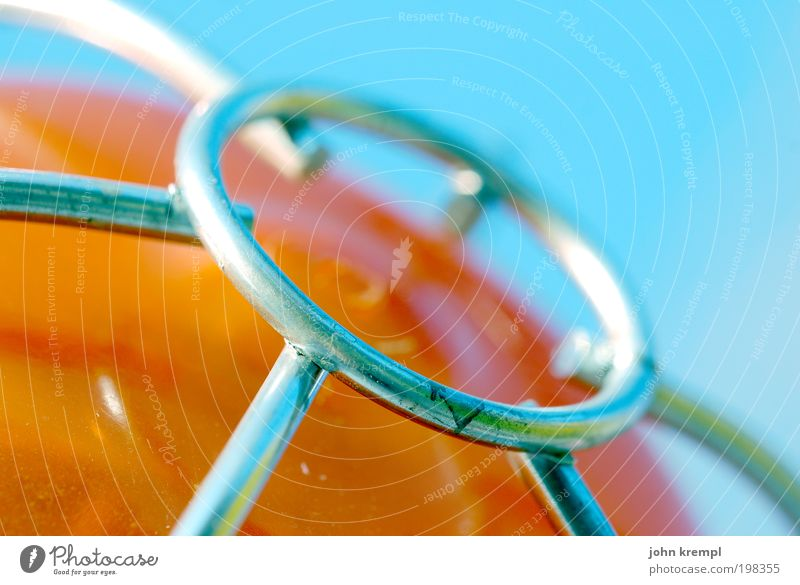Sky Blue Joy Lamp Orange Metal Fresh Circle Happiness Cool (slang) Dangerous Mysterious Illuminate Exotic Spider Brash