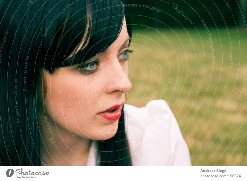 chamandeux Relaxation Calm Leisure and hobbies Freedom Summer Human being Feminine Young woman Youth (Young adults) Life Hair and hairstyles Face 1