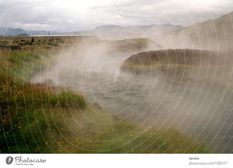 Nature Water Clouds Meadow Landscape Fog Environment Fire Wild Hot Natural Exceptional Iceland Elements Brook Steam