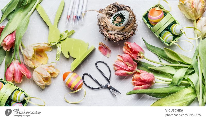 Nature Flower Spring Love Interior design Style Feasts & Celebrations Design Living or residing Decoration Blossoming Sign Easter Bouquet Tradition Egg