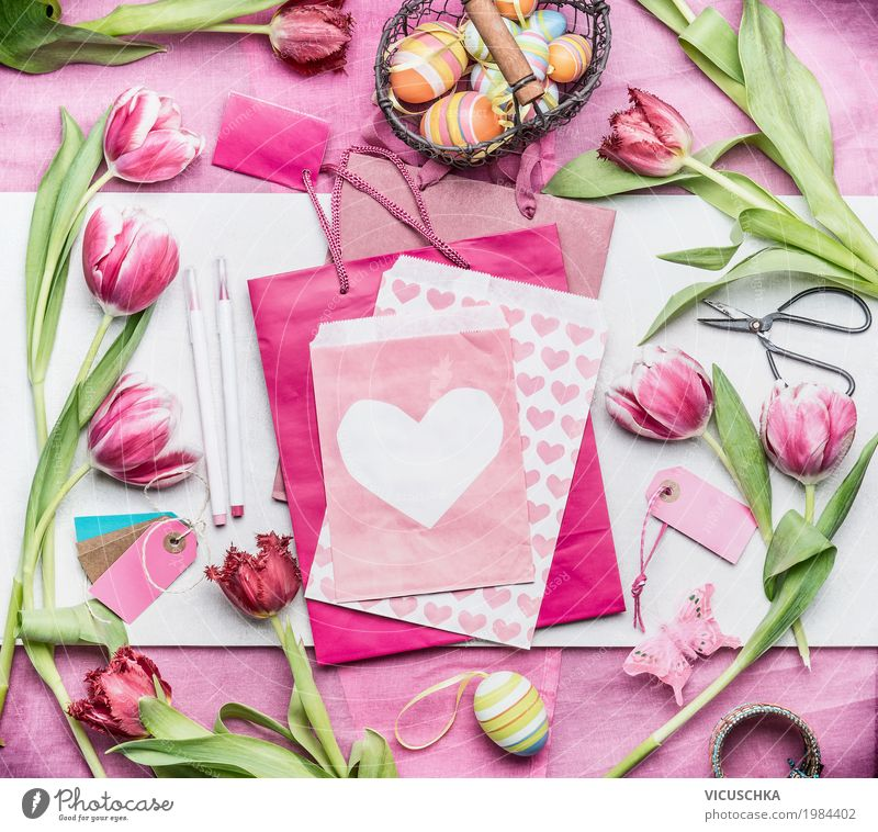 Nature Plant Flower Love Interior design Style Feasts & Celebrations Design Pink Living or residing Decoration Heart Easter Bouquet Tradition Egg