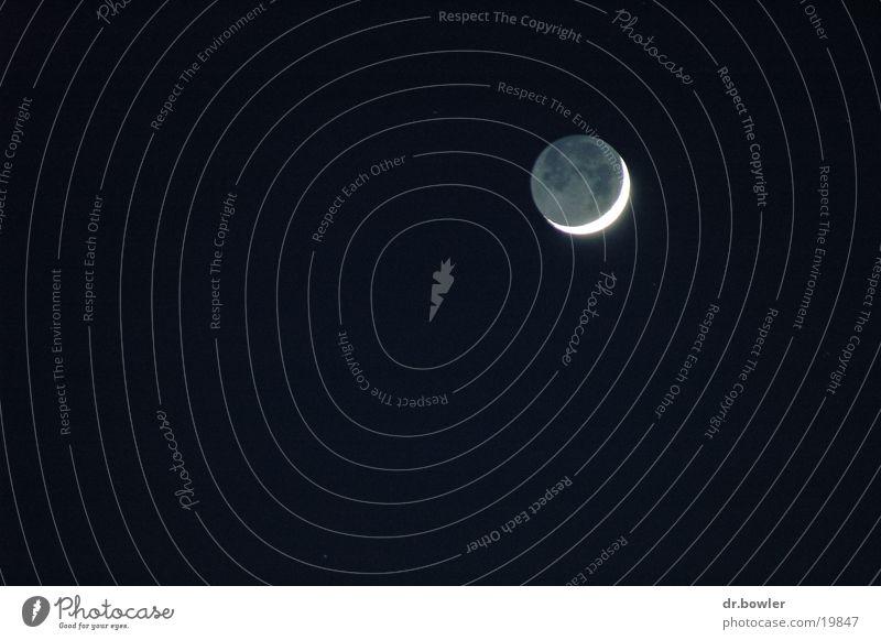 Moon Crescent moon