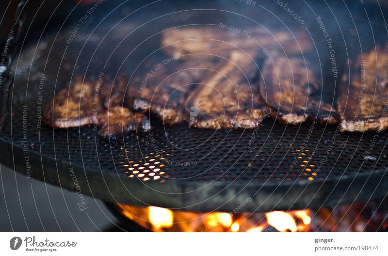 Black Eating Brown Nutrition Fire Round Hot Appetite Smoke Delicious Barbecue (event) Meat Barbecue (apparatus) Coal