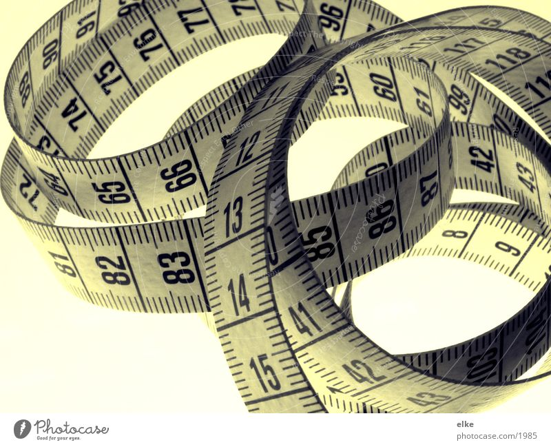 everything is measurable Tape measure Extent Digits and numbers Things Craft (trade) centimeter Size survey Far-off places
