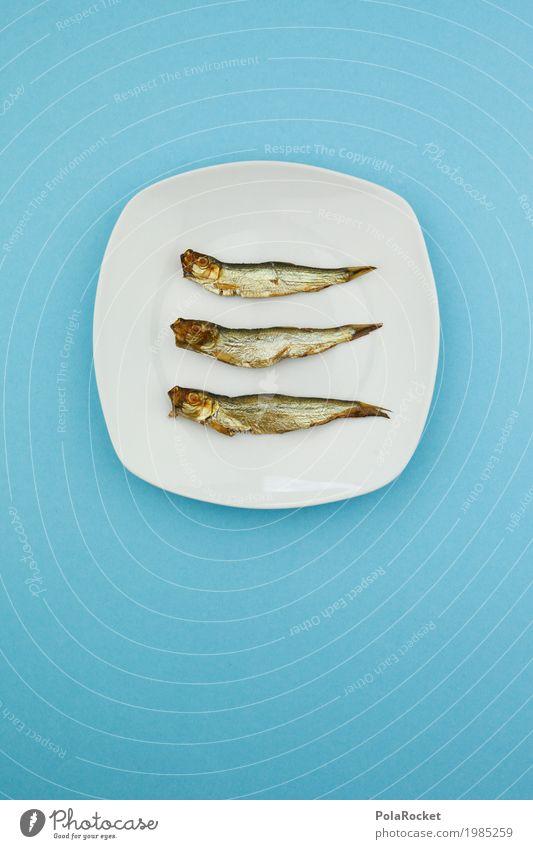 Blue Art Design Arrangement Creativity To enjoy Fish Delicious Many Advertising Inspiration Appetite Plate Work of art Fishery