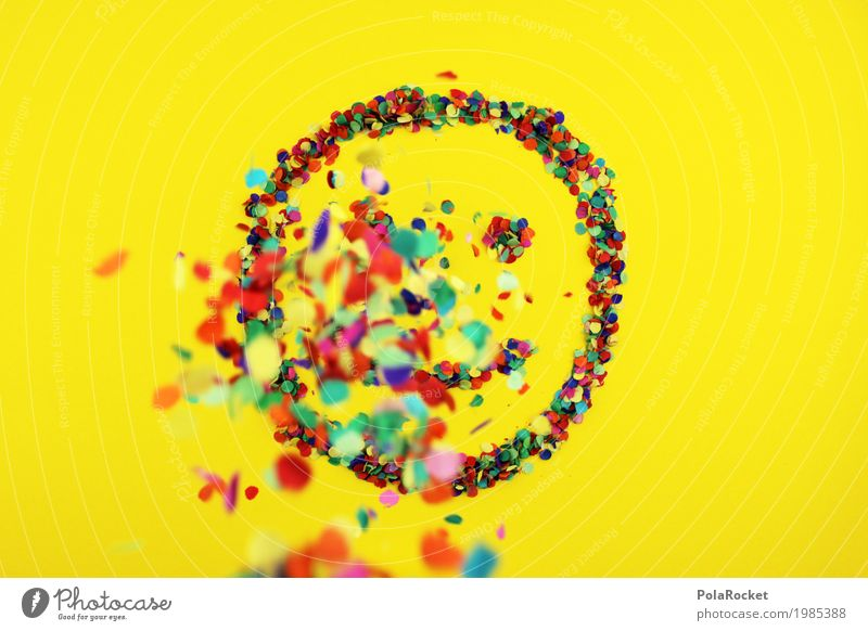 #S# Smile colorful 3 Joy Art Work of art Emotions Happy Happiness Spring fever Laughter Multicoloured Point Confetti Smiley Rain Eyes Mouth Positive Grinning