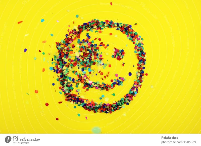 #S# smile colorful 4 - The impact Joy Art Work of art Emotions Happy Laughter Multicoloured Point Confetti Smiley Rain Eyes Mouth Positive Grinning Yellow