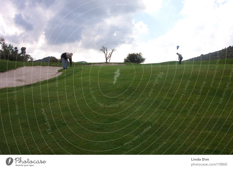 Vacation & Travel Sports Landscape Moody Lawn Golf Spain Majorca Golf course Dugout Manmade landscape Course design