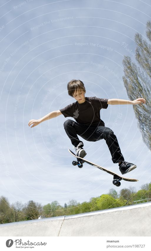 Child Sky Vacation & Travel Life Sports Boy (child) Jump Movement Infancy Leisure and hobbies Arm Flying Lifestyle Driving Fitness Concentrate