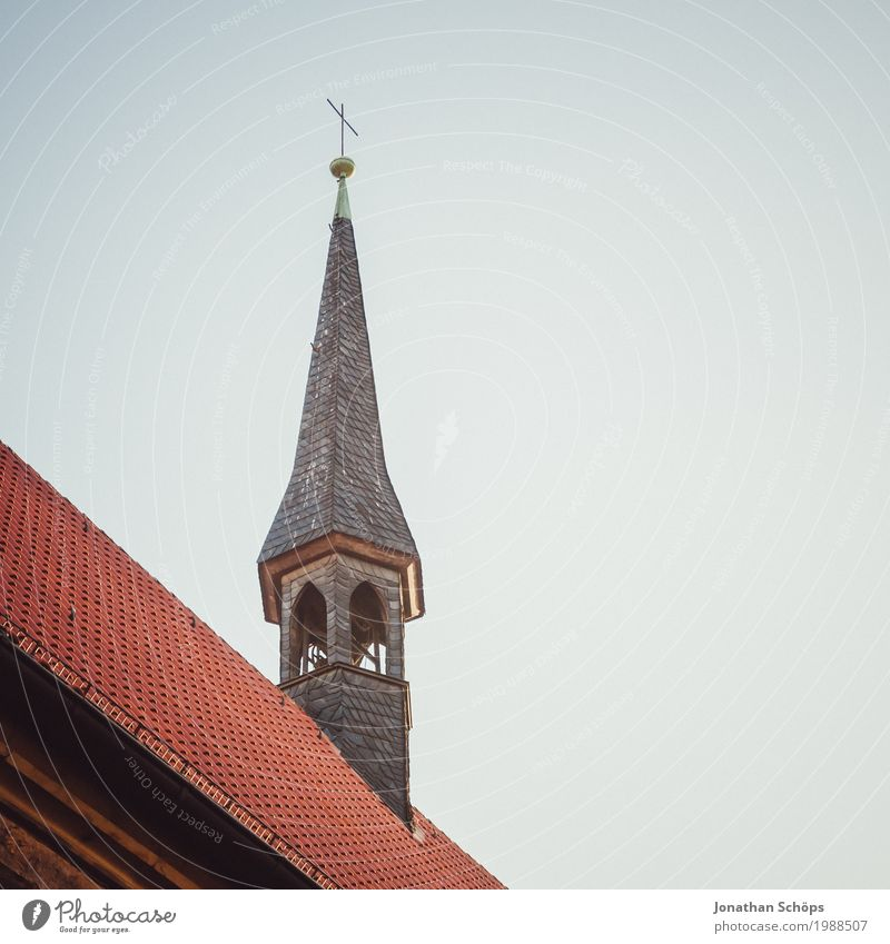 Ursuline monastery Erfurt III Winter Capital city Downtown Old town Religion and faith Church Tower Manmade structures Building Architecture Facade Roof