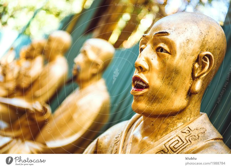 1000 Buddhas Temple in Hong Kong. Beautiful Face Vacation & Travel Tourism Decoration Art Culture Architecture Monument Street Lanes & trails Exceptional Bright